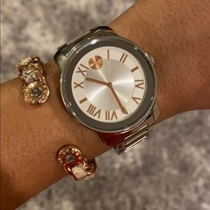 *REDUCED* Movado Bold Silver & Rose Gold Watch